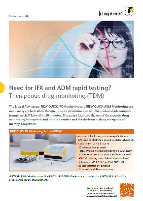 Need for IFX and ADM rapid testing